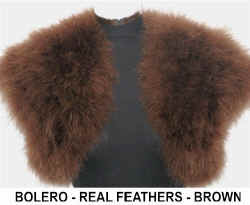 BROWN  FEATHER BOLERO.jpg (35961 bytes)