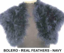 FEATHER BOLERO  NAVY.jpg (38883 bytes)