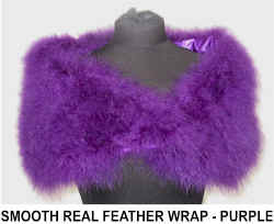 SMOOTH FEATHER WRAP  PURPLE.jpg (38992 bytes)