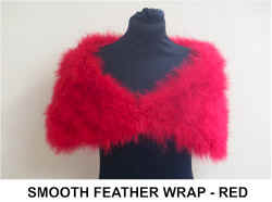 SMOOTH FEATHER WRAP  RED.jpg (21504 bytes)